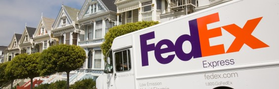 FedEx Express Hybrid Vehicle, San Franciso